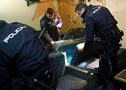 New units of National Police (POLICIA NACIONAL) Los Bronce (THE BRONZE UNIT), Madrid, Spain, December 1, 2012. Photo by Eduardo Dieguez / DyD Fotografos / i-Images...SPAIN OUT