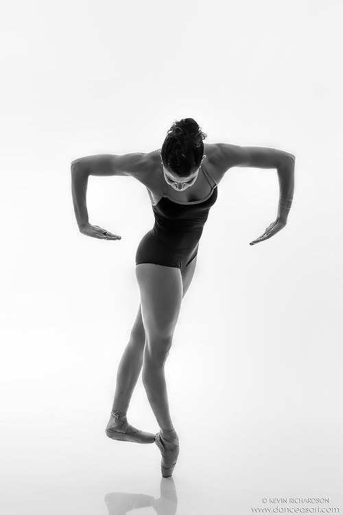 Black and white dance photography-Lines en Pointe -featuring ballerina Zui Gomez