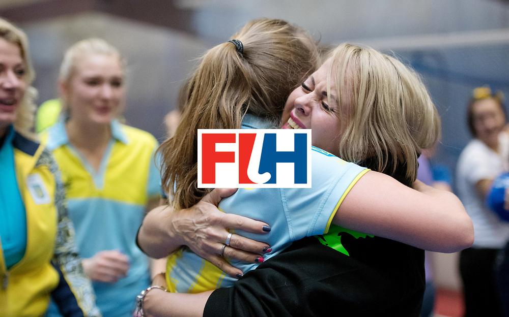 BERLIN - Indoor Hockey World Cup<br /> Women: Ukraine - Czech Republic<br /> foto: .<br /> WORLDSPORTPICS COPYRIGHT FRANK UIJLENBROEK