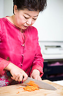 Chef and Food Director Mrs Soo Jin Kim, 61, at the Food and Culture Academy in Seoul, South Korea. (푸드앤컬쳐 아카데미)