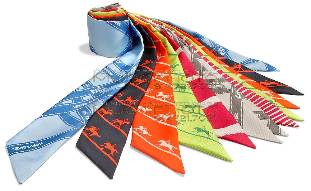 hermes-paris printed silk scarves