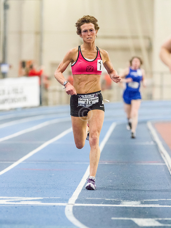 USATF Masters Indoor Championship, women's mile, 50-59 age-group race