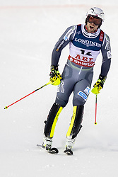 11.02.2019, Aare, SWE, FIS Weltmeisterschaften Ski Alpin, alpine Kombination, Herren, Slalom, im Bild Aleksander Aamodt Kilde (NOR) // Aleksander Aamodt Kilde of Norway reacts after the Slalom competition of the men's alpine combination for the FIS Ski World Championships 2019. Aare, Sweden on 2019/02/11. EXPA Pictures © 2019, PhotoCredit: EXPA/ Dominik Angerer