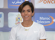 Rababe Arafi aka Rabab Al-Arafiat (MAR) at an IAAF Diamond League press conference prior to the  Meeting International Mohammed VI d'Athletisme de Rabat 2019, Saturday, June 15, 2019, in Rabat<br /> Rababe Arafi , Morocco. (Image of Sport)
