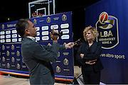 Graziella Bragaglio<br /> Presentazione Campionato Lega Basket 2016-2017<br /> Basket Serie A  2016<br /> Milano 26/09/2016<br /> Foto Ciamillo-Castoria