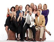 Joan Severance, Kim Alexis, Kelly Emberg, Tara Shannon, Kim Charlton, Cheryl Tiegs, Diane DeWitt, Jack Scalia & Tony Spinelli