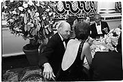 Warren Avis, Kathryn Lindan. Crime victims,honouring Milton Petrie. Plaza 17th September 1990© Copyright Photograph by Dafydd Jones 66 Stockwell Park Rd. London SW9 0DA Tel 020 7733 0108 www.dafjones.com