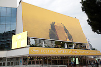 Preparations are  under way at for the 69th Cannes Film Festival at Palais des Festivals, Tuesday 10th May 2016, Cannes, France, exterior