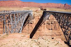Navajo Bridge, north of the Grand Canyon, Arizona