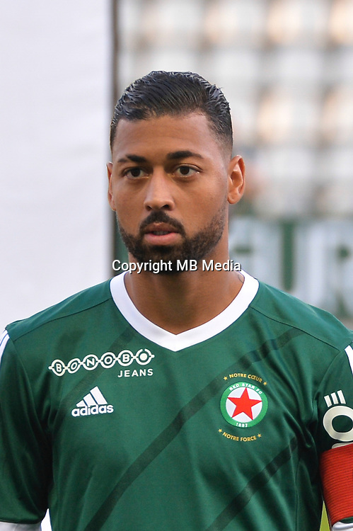 Lloyd Palun of Red Star during the football Ligue 2 match between Red Star fc and Stade Brestois 29 Brest at Stade Jean Bouin on August 12, 2016 in Paris, France. (Photo by Anthony Dibon / Icon Sport)