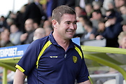 Burton Albion manager Nigel Clough during the EFL Sky Bet Championship match between Burton Albion and Fulham at the Pirelli Stadium, Burton upon Trent, England on 16 September 2017. Photo by Richard Holmes.