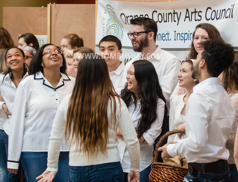 "Town of Wallkill, New York - The Orange County Arts Council held its All-County High School Musical Showcase and Arts Display at the Galleria at Crystal Run on Feb. 28, 2015. The theme of the event was: ""Arts Build Confidence""."