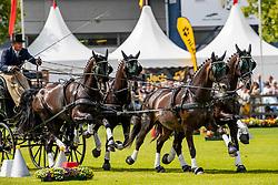 Exell Boyd, AUS, Bajnok, Barny 68, Demi, Rocket 123<br /> CHIO Aachen 2019<br /> Weltfest des Pferdesports<br /> © Hippo Foto - Dirk Caremans<br /> Exell Boyd, AUS, Bajnok, Barny 68, Demi, Rocket 123