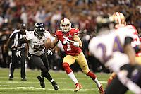 San Francisco 49ers XXXXX Baltimore Ravens during Super Bowl XLVII on January 3, 2013New Orleans. (AP Photo/Tom Hauck)