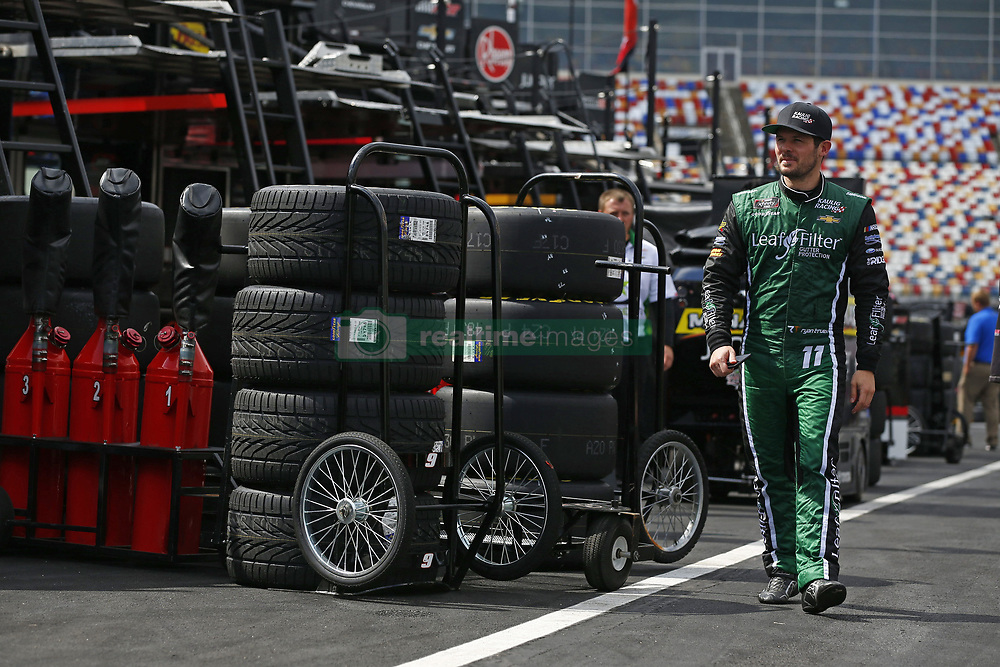 September 27, 2018 - Concord, North Carolina, United States of America - Ryan Truex (11) hangs out in the garage during practice for the Drive for the Cure 200 at Charlotte Motor Speedway in Concord, North Carolina. (Credit Image: © Chris Owens Asp Inc/ASP via ZUMA Wire)