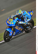 LORIS CAPIROSSI ITA..RIZLA SUZUKI MOTOGP..SUZUKI..MotoGP Grand Prix Qatar 2010 (Circuit Losail) ..11.04.2010..PSP/LUKASZ SWIDEREK *** Local Caption *** capirossi (loris)