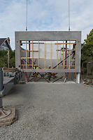 NZ Builders install Concrete Insulated Panels at a new home site on Beach Drive in Victoria, BC Canada.