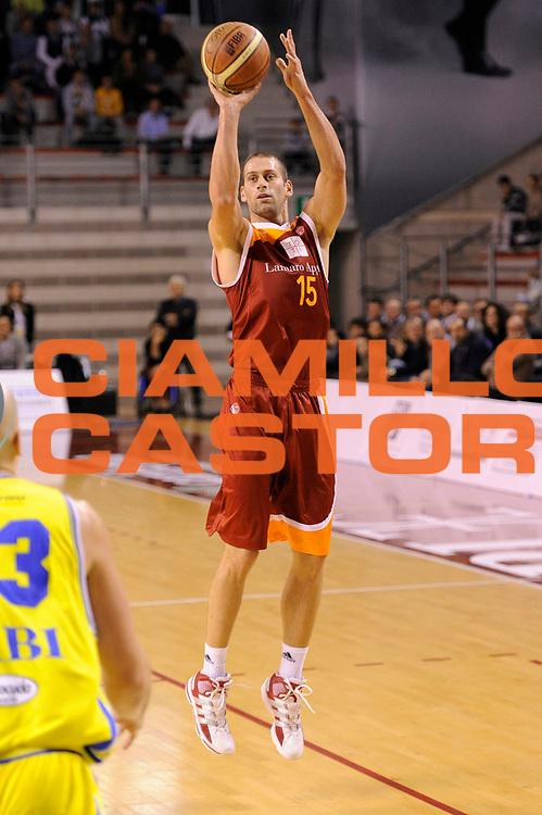 DESCRIZIONE : Ancona Lega A 2011-12 Fabi Shoes Montegranaro Virtus Roma<br /> GIOCATORE : Vladimir Dasic<br /> CATEGORIA : tiro<br /> SQUADRA : Virtus Roma<br /> EVENTO : Campionato Lega A 2011-2012<br /> GARA : Fabi Shoes Montegranaro Virtus Roma<br /> DATA : 23/10/2011<br /> SPORT : Pallacanestro<br /> AUTORE : Agenzia Ciamillo-Castoria/C.De Massis<br /> Galleria : Lega Basket A 2011-2012<br /> Fotonotizia : Ancona Lega A 2011-12 Fabi Shoes Montegranaro Virtus Roma<br /> Predefinita :