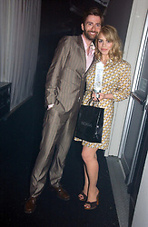 DAVID TENNANT and BILLIE PIPER at the 2006 Glamour Women of the Year Awards 2006 held in Berkeley Square Gardens, London W1 on 6th June 2006.<br />
