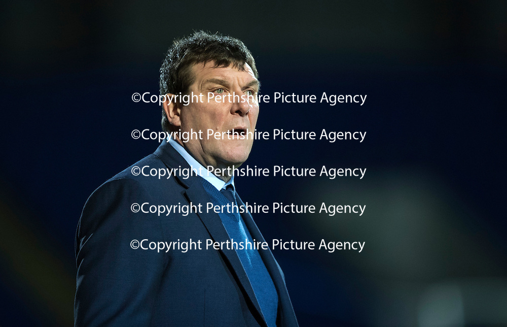 St Johnstone v Motherwell&Ouml;17.12.16     McDiarmid Park    SPFL<br /> A bemused Tommy Wright<br /> Picture by Graeme Hart.<br /> Copyright Perthshire Picture Agency<br /> Tel: 01738 623350  Mobile: 07990 594431