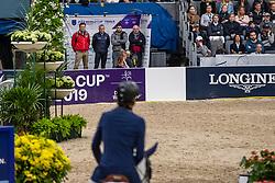 Fuchs Martin, SUI, Clooney 51<br /> LONGINES FEI World Cup™ Finals Gothenburg 2019<br /> © Dirk Caremans<br /> 04/04/2019