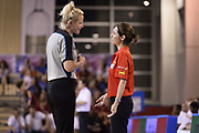 DESCRIZIONE : Udine U20 Campionato Europeo Femminile Finale 1-2 posto Spagna Francia European Championship Women Final 1-2 Place Spain France<br /> GIOCATORE : Arbitro Referee Anna Caula Paretas<br /> CATEGORIA : Arbitro Referee Fairplay Delusione<br /> SQUADRA : Arbitro Referee Spagna Spain<br /> EVENTO : Udine U20 Campionato Europeo Femminile Finale 1-2 posto Spagna Francia European Championship Women Final 1-2 Place Spain France<br /> GARA : Spagna Francia Spain France<br /> DATA : 13/07/2014<br /> SPORT : Pallacanestro <br /> AUTORE : Agenzia Ciamillo-Castoria/Max.Ceretti<br /> Galleria : Europeo Under 20 Femminile <br /> Fotonotizia : Udine U20 Campionato Europeo Femminile Finale 1-2 posto Spagna Francia European Championship Women Final 1-2 Place Spain France<br /> Predefinita :