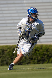 26 April 2009: Duke Blue Devils attackman Zach Howell (21) during a 15-13 win over the North Carolina Tar Heels during the ACC Championship at Kenan Stadium in Chapel Hill, NC.
