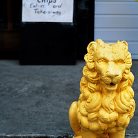 Chip shop, Haast, New Zealand