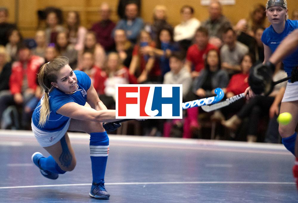 BERLIN - Indoor Hockey World Cup<br /> Czech Republic - Namibia<br /> foto: LEHOVCOVA Adela (C)<br /> WORLDSPORTPICS COPYRIGHT FRANK UIJLENBROEK