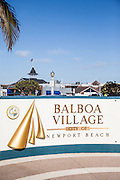 Balboa Village City of Newport Beach