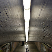 Noorwegen Bergen 30 december 2008 20081230 Foto: David Rozing .Havenstad Bergen, tunnel richting station .The city of Bergen, tunnel to station ..Foto: David Rozing