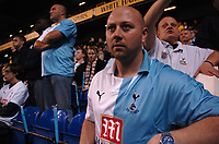 Photo: Tony Oudot.<br /> Tottenham Hotspur v Aston Villa. The FA Barclays Premiership. 01/10/2007.<br /> Tottenham fans celebrate their 125th Anniversary
