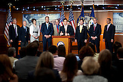 Rep. ERIC CANTOR (R-VA) and members of the Balanced Budget Amendment Caucus hold a news conference to discuss the Balanced Budget Amendment, which will be considered on the floor next week.