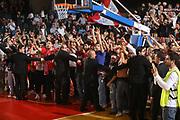 DESCRIZIONE : Reggio Emilia Lega A 2014-15 Grissin Bon Reggio Emilia EA7 Emporio Armani Olimpia Milano<br /> GIOCATORE : tifosi Grissin Bon Reggio Emilia<br /> CATEGORIA : tifosi esultanza<br /> SQUADRA : Grissin Bon Reggio Emilia<br /> EVENTO : Campionato Lega A 2014-2015<br /> GARA : Grissin Bon Reggio Emilia EA7 Emporio Armani Olimpia Milano<br /> DATA : 10/11/2014<br /> SPORT : Pallacanestro <br /> AUTORE : Agenzia Ciamillo-Castoria/E.Rossi<br /> Galleria : Lega Basket A 2014-2015 <br /> Fotonotizia : Reggio Emilia Lega A 2014-15 Grissin Bon Reggio Emilia EA7 Emporio Armani Olimpia Milano