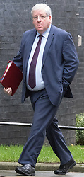 Downing Street, London, December 1st 2015. Transport Secretary Patrick McLoughlin arrives at Downing Street for the weekly cabinet meeting. ///FOR LICENCING CONTACT: paul@pauldaveycreative.co.uk TEL:+44 (0) 7966 016 296 or +44 (0) 20 8969 6875. ©2015 Paul R Davey. All rights reserved.