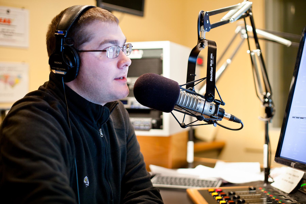 Host of WFAE's Morning Edition, Scott Graf