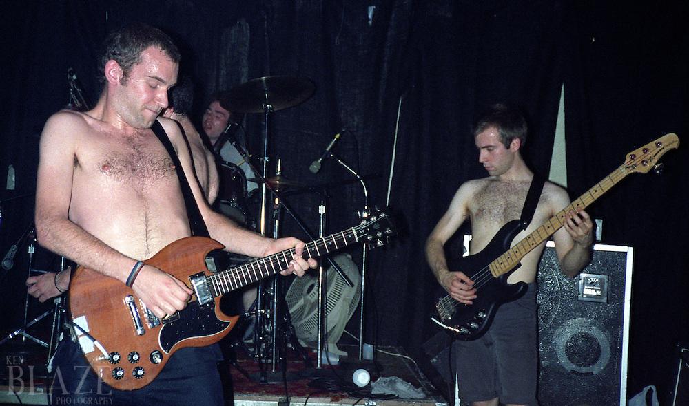 Fugazi performs at the Phantasy Nite Club in Lakewood, OH on June 15, 1989.