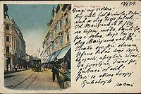Zagreb = Agram : Ilica. <br /> <br /> ImpresumTriest : J. Horowitz, Kunstanstalt, [1914].<br /> Materijalni opis1 razglednica : svjetlotisak ; 9,1 x 14 cm.<br /> Mjesto izdavanjaTrst<br /> Vrstavizualna građa • razglednice<br /> ZbirkaZbirka razglednica • Grafička zbirka NSK<br /> Formatimage/jpeg<br /> Obuhvat(vremenski)20. stoljeće<br /> NapomenaRazglednica je putovala u 1914. godine • Poleđina razglednice je namijenjena samo za adresu<br /> PravaJavno dobro<br /> Identifikatori000921327<br /> NBN.HRNBN: urn:nbn:hr:238:163491 <br /> <br /> Izvor: Digitalne zbirke Nacionalne i sveučilišne knjižnice u Zagrebu