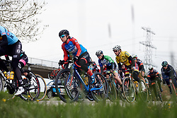 Ane Santesteban (ESP) at Healthy Ageing Tour 2019 - Stage 3, a 124 km road race starting and finishing in Musselkanaal, Netherlands on April 12, 2019. Photo by Sean Robinson/velofocus.com