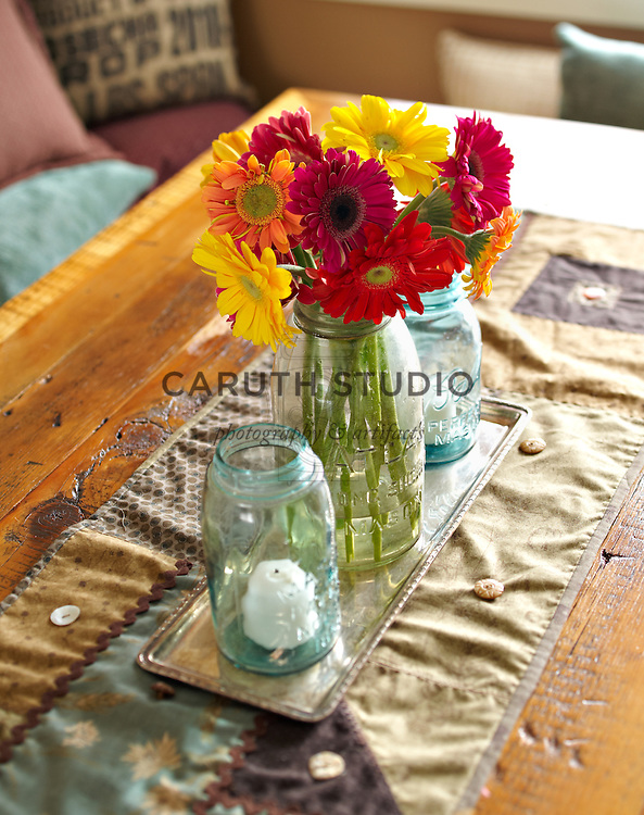 Dining room makeover, table centerpiece