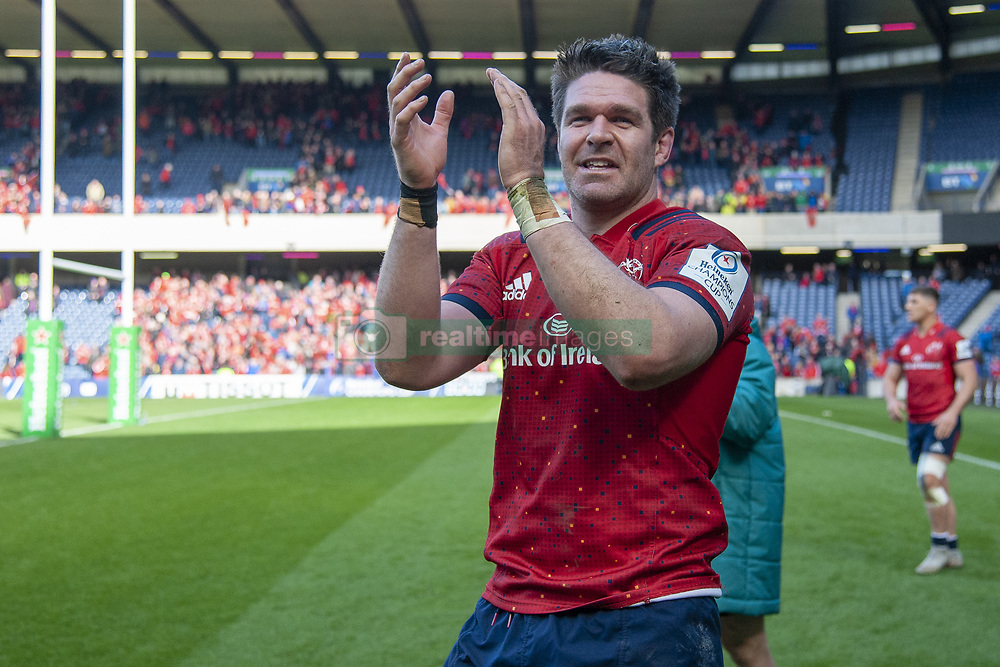March 30, 2019 - Edinburgh, Scotland, United Kingdom - Billy Holland of Munster celebrates during the Heineken Champions Cup Quarter Final match between Edinburgh Rugby and Munster Rugby at Murrayfield Stadium in Edinburgh, Scotland, United Kingdom on March 30, 2019  (Credit Image: © Andrew Surma/NurPhoto via ZUMA Press)