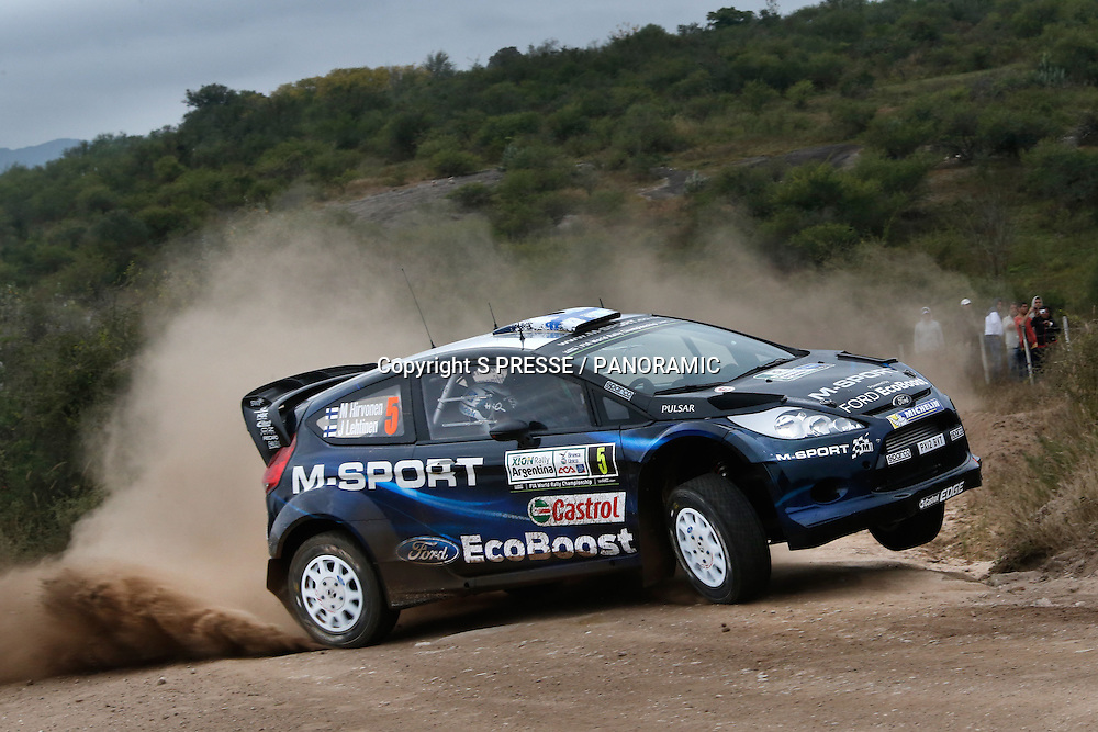 Mikko Hirvonen (FIN) / Jarmo Lehtinen (FIN)- Ford Fiesta WRC