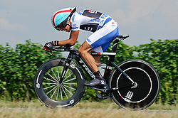 07.07.2012, Podersdorf, AUT, 64. Oesterreich Rundfahrt, 7. Etappe, EZF Podersdorf, im Bild Thomas Rohregger (AUT, Radioshack-Nissan) // Radioshack-Nissan driver Thomas Rohregger of Austria during the 64rd Tour of Austria, Stage 7, Time Trial in Podersdorf, Austria on 2012/07/07. EXPA Pictures © 2012, PhotoCredit: EXPA/ S. Zangrando