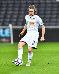 Aaron Lewis of Swansea City in action - Mandatory by-line: Craig Thomas/Replay images - 18/03/2018 - FOOTBALL - Liberty Stadium - Swansea, England - Swansea City U23 v Manchester United U23 - Premier League 2 - Divison 1