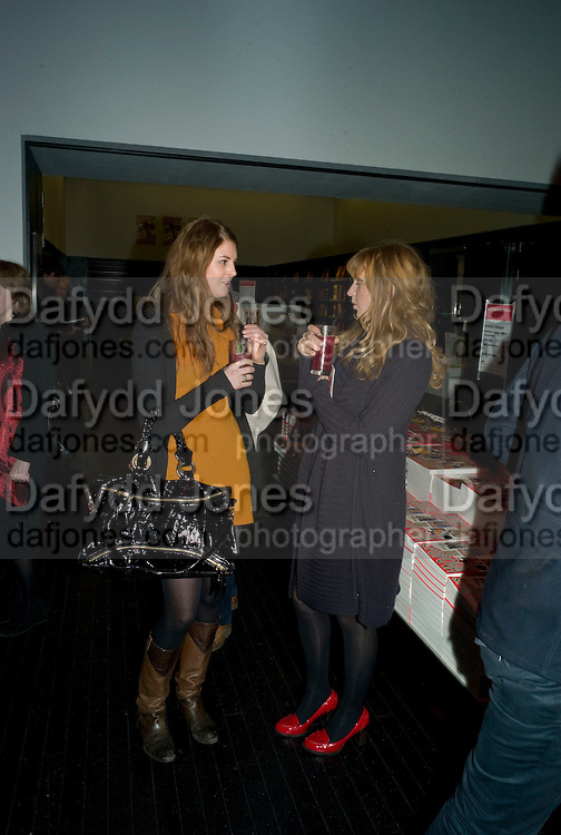 LARA PILKINGTON; OCTAVIA DICKINSON, Rodchenko and Popova: Defining Constructivism. Tate Modern. London. 10 February 2009 *** Local Caption *** -DO NOT ARCHIVE -Copyright Photograph by Dafydd Jones. 248 Clapham Rd. London SW9 0PZ. Tel 0207 820 0771. www.dafjones.com<br /> LARA PILKINGTON; OCTAVIA DICKINSON, Rodchenko and Popova: Defining Constructivism. Tate Modern. London. 10 February 2009