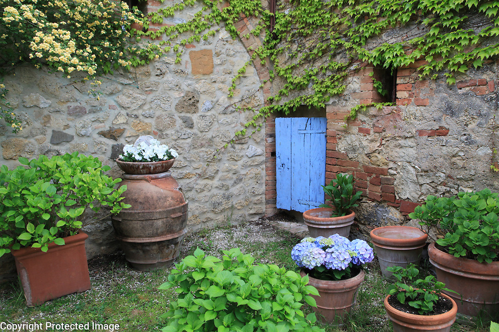Patio in Tuscany