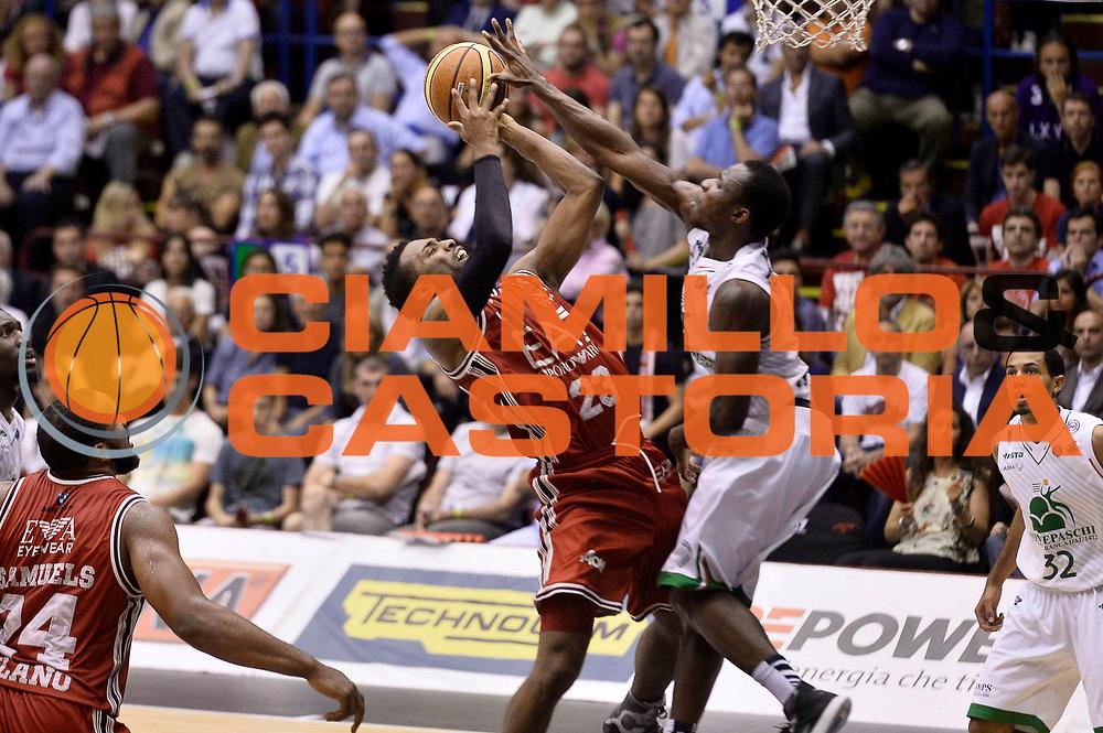 DESCRIZIONE : Milano Lega A 2013-14 EA7 Emporio Armani Milano vs Montepaschi Siena playoff Finale gara 5<br /> GIOCATORE : Keith Langford<br /> CATEGORIA : Tiro<br /> SQUADRA : EA7 Emporio Armani Milano<br /> EVENTO : Finale gara 5 playoff<br /> GARA : EA7 Emporio Armani Milano vs Montepaschi Siena playoff Finale gara 5<br /> DATA : 23/06/2014<br /> SPORT : Pallacanestro <br /> AUTORE : Agenzia Ciamillo-Castoria/GiulioCiamillo<br /> Galleria : Lega Basket A 2013-2014  <br /> Fotonotizia : Milano Lega A 2013-14 EA7 Emporio Armani Milano vs Montepaschi Siena playoff Finale gara 5<br /> Predefinita :