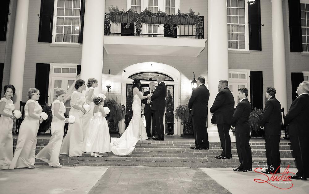 LJ & Monique Wedding Album   Southern Oaks Plantation   1216 Studio Wedding Photography
