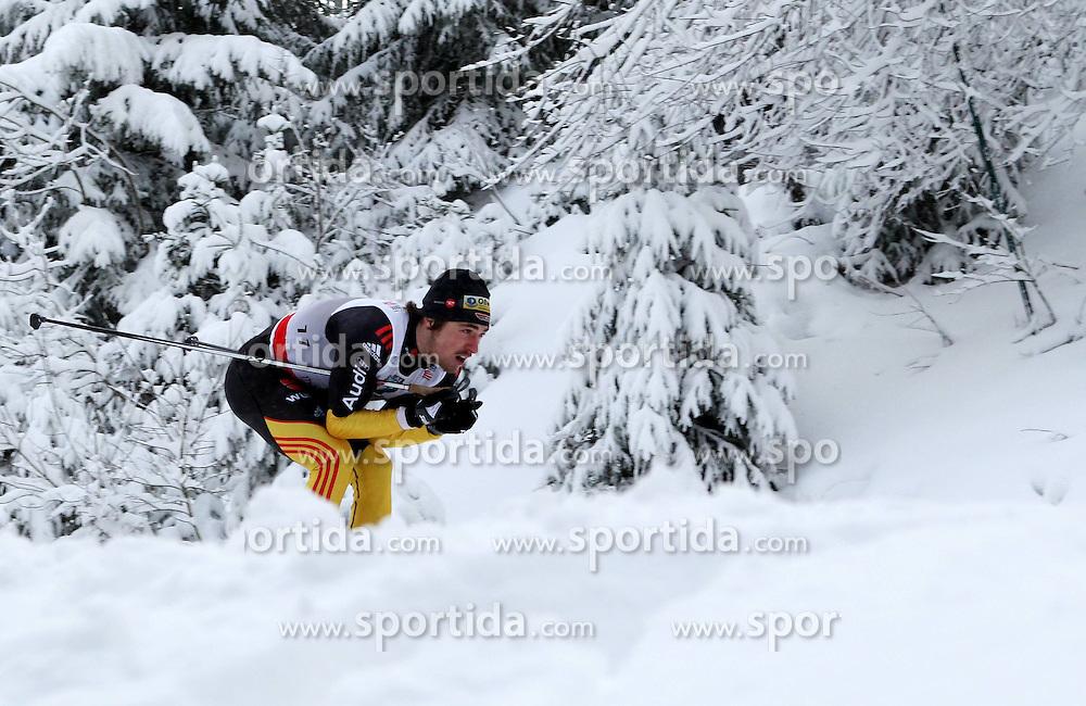 31.12.2011, DKB-Ski-ARENA, Oberhof, GER, Viessmann Tour de Ski 2011, FIS Langlauf Weltcup, Verfolgung Herren, im Bild Thomas Bing (GER) // during men's pursuitof Viessmann Tour de Ski 2011 FIS World Cup Cross Country at DKB-SKI-Arena Oberhof, Germany on 2011/12/31. EXPA Pictures © 2011, PhotoCredit: EXPA/ nph/ Hessland..***** ATTENTION - OUT OF GER, CRO *****