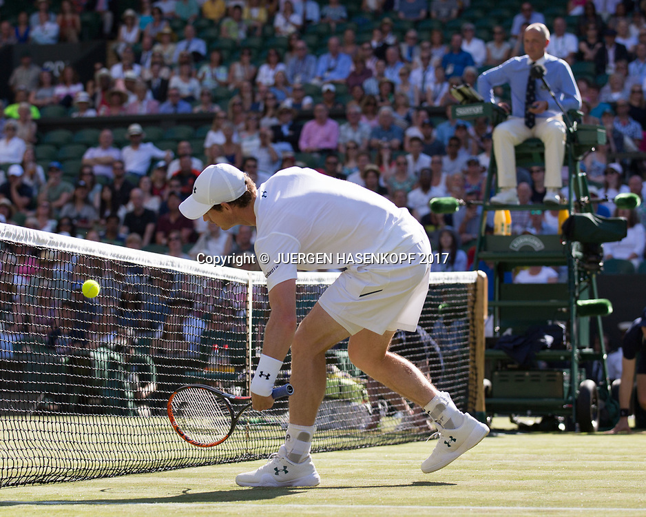 ANDY MURRAY (GBR)<br /> <br /> Tennis - Wimbledon 2016 - Grand Slam ITF / ATP / WTA -  AELTC - London -  - Great Britain  - 5 July 2017.